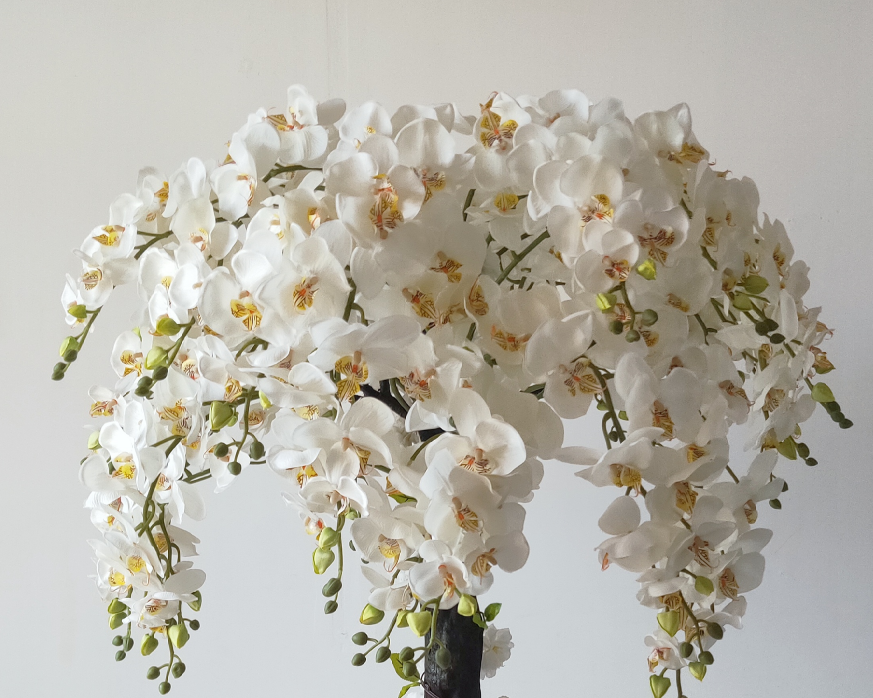 wedding decoration beautiful orchid centerpiece tree