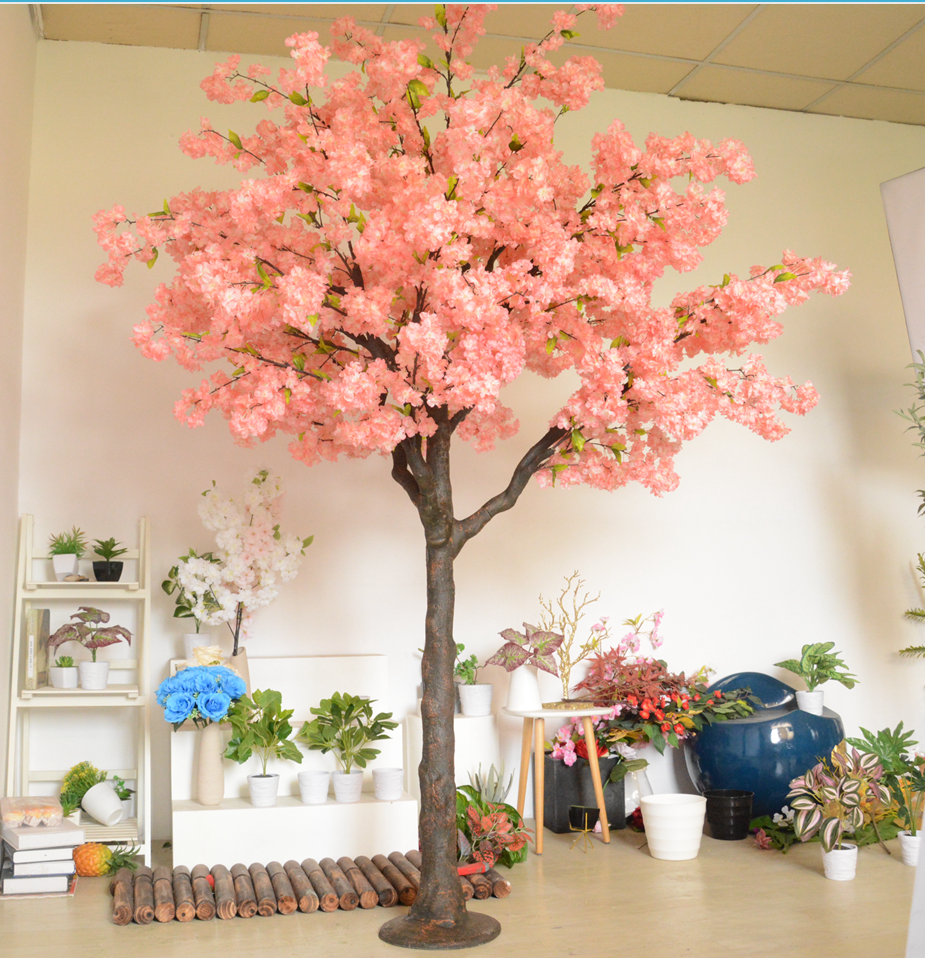 Wedding Decorate Flower Tree for Shopping Mall Fiberglass Tr