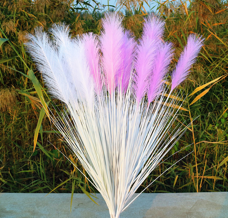 artificial grass reed grass wedding decoration