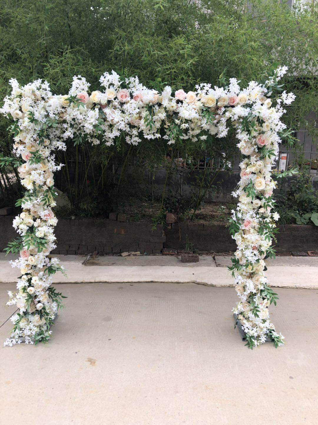 Artificial Flower Arch for Wedding Decoration