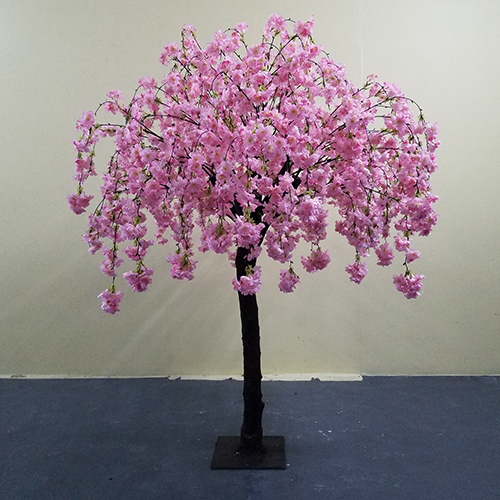 1.7m high wedding centerpiece artificial cherry blossom tree