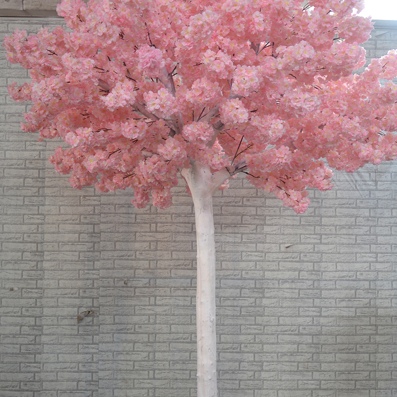 cherry blossom tree , white branches and silk blossom