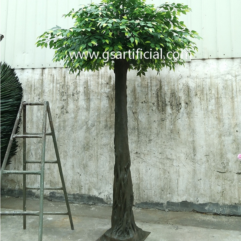 tall evergreen tree   green artificial tree  ficus tree