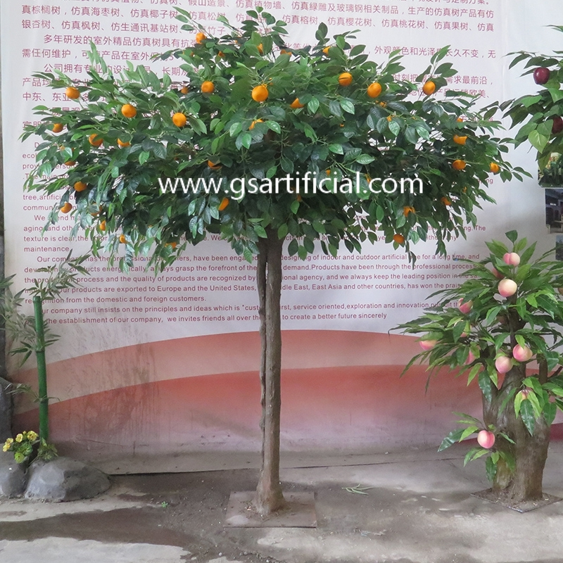 artificial fruit trees  artificial orange tree