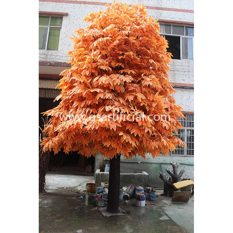GST618 Tall outdoor tree artificial for hall decoration