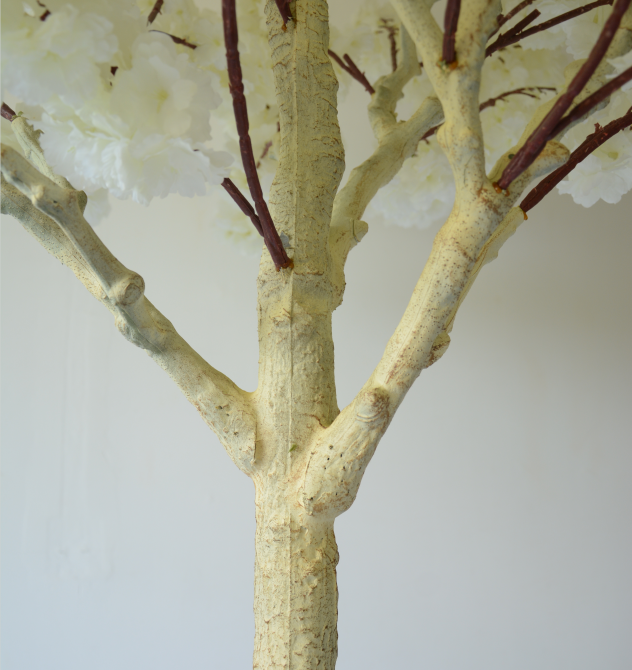Artificial Cherry Blossom Tree With Wind Chime for Wedding D