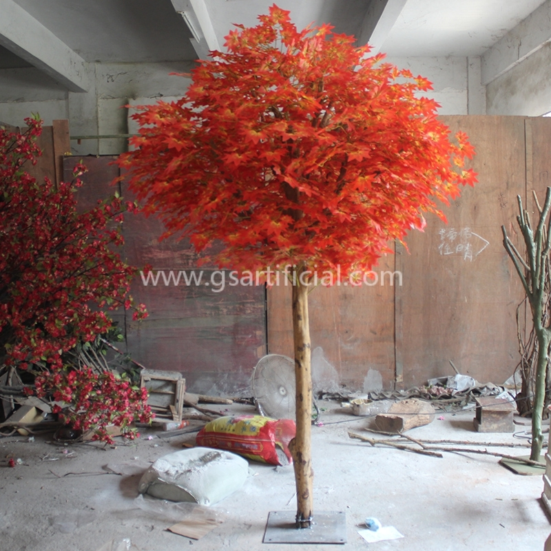 GST200 Japanese  wooden maple tree artificial for decoration