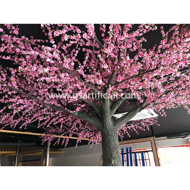 large artificial peach tree for conference hall decoration