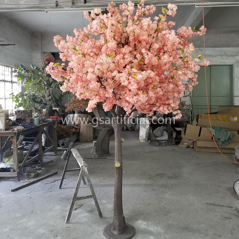 wooden sakura blossom tree cherry blossom for wedding