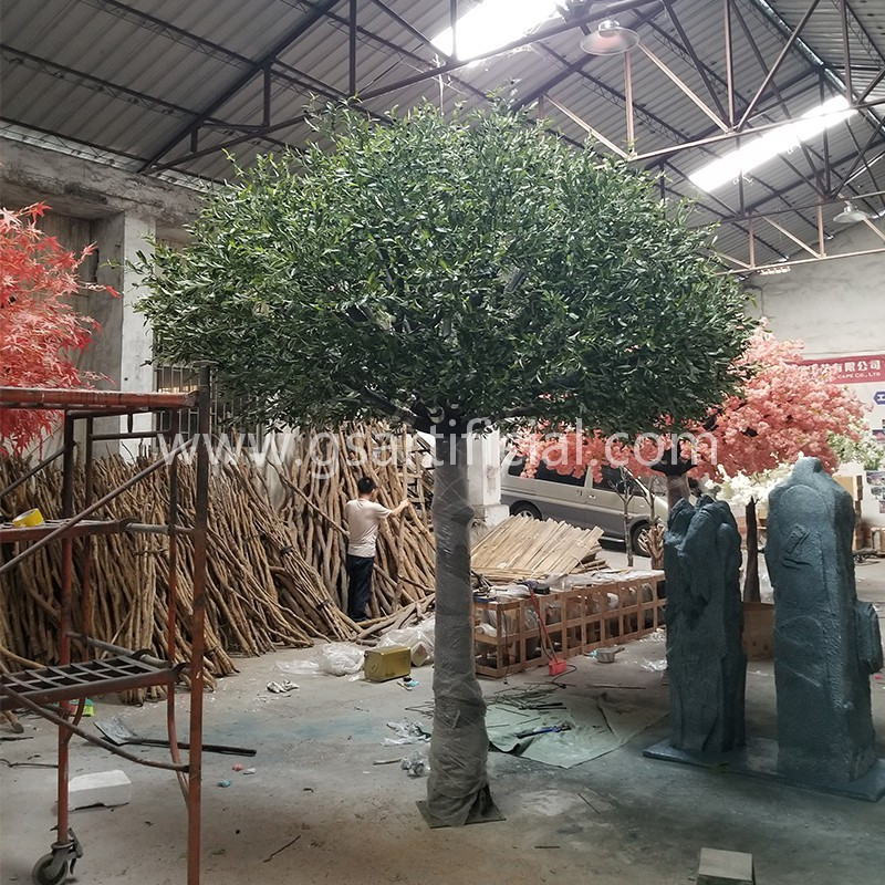 4m high large artificial olive tree for garden decoration