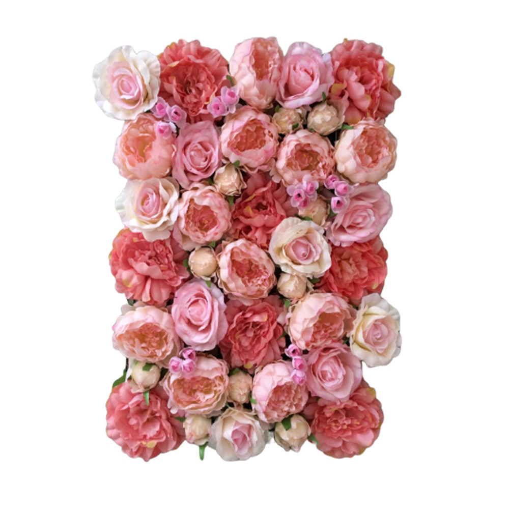 Flower Panel Artificial Flower Wall