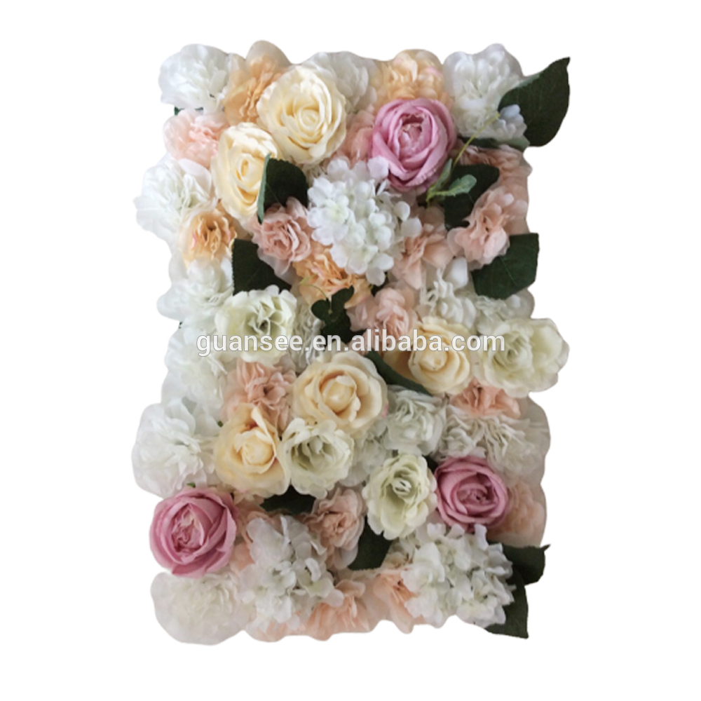 Flower Panel Artificial Flower Wall for Wedding