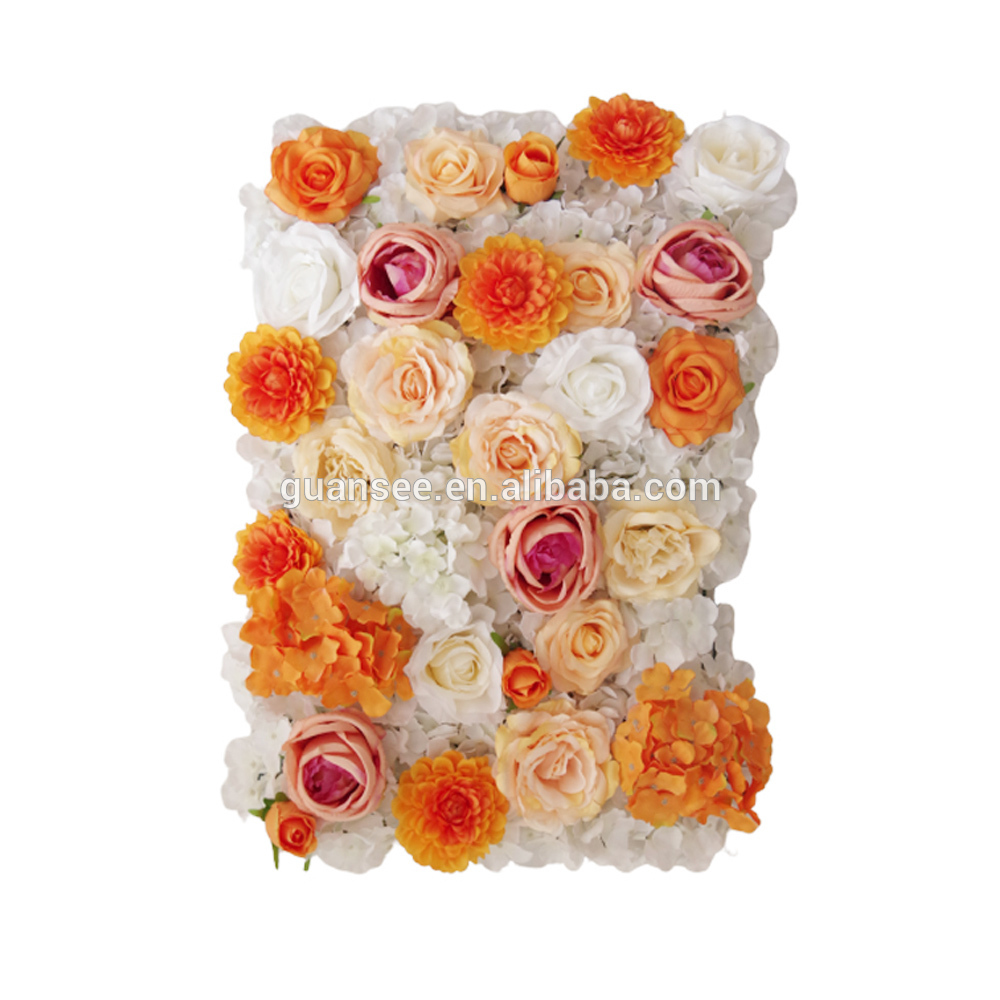 Wedding Decorative Backdrop Panels Artificial rose flower