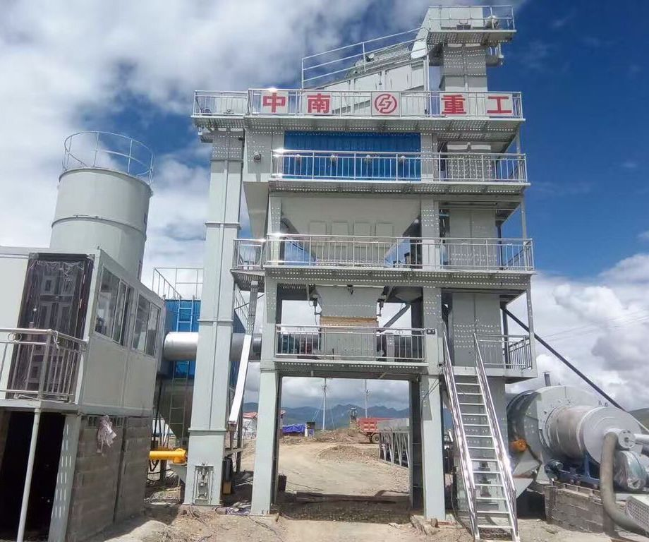 LB1500 Asphalt Mixing Plant 120t/h is Installed in Sichuan P