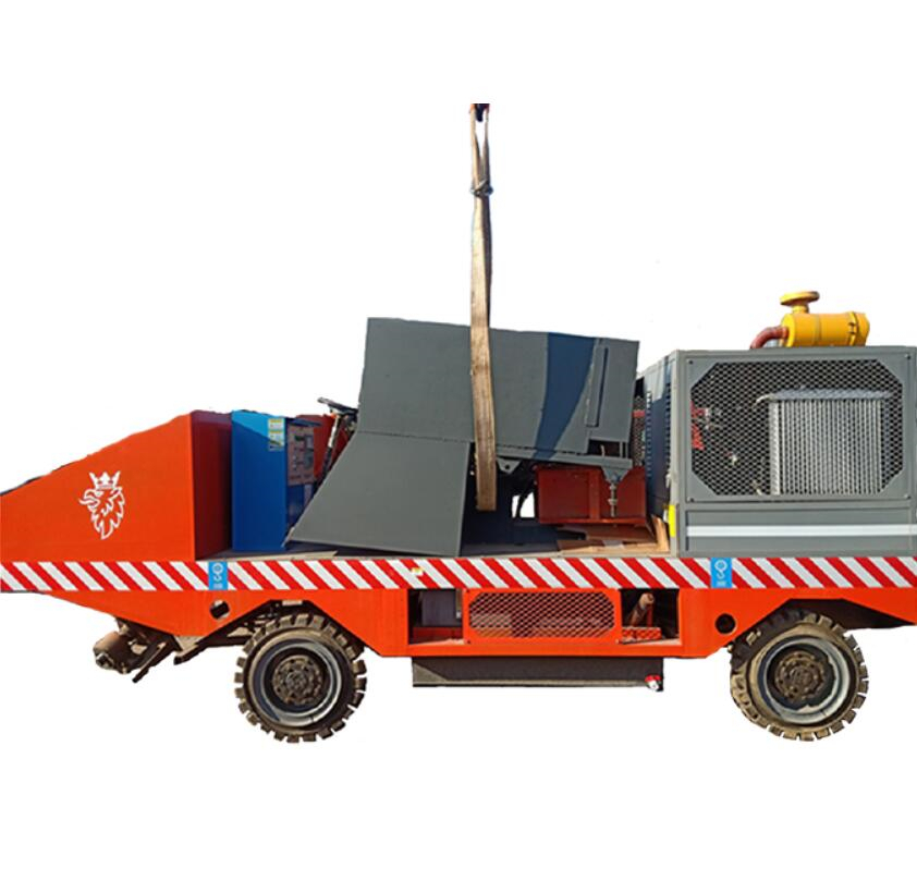 New Technology Concrete Curbing Machine