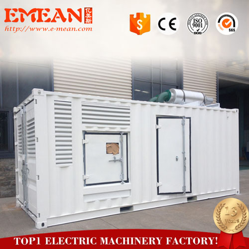 1250kva Containerized diesel generator set