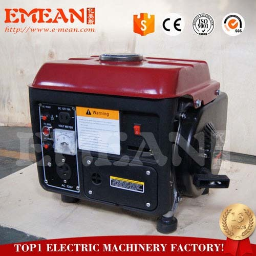 500W portable gasoline generator set with standard type