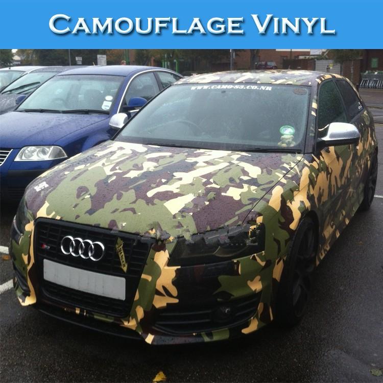 Automobiles Exterior Accessories Vinyl Car Wrap Camouflage Auto Masking Film