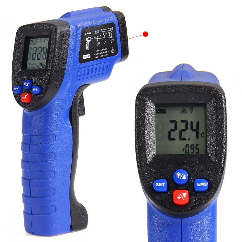 COLEMETER WT550 Digital Infrared Thermometer, -50 ℃ to 550℃
