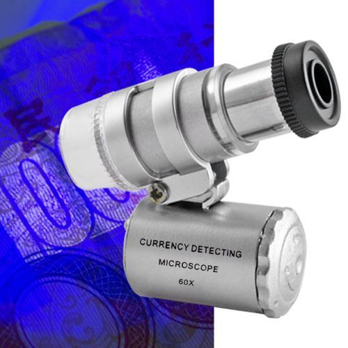 COLEMETER BW04 Mini 60X Zoom Magnification LED Pocket Micros