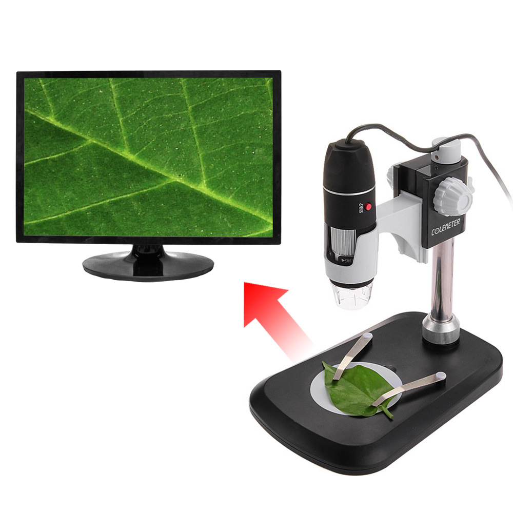 COLEMETER BA058 50X~500X USB Digital Microscope Endoscope Ma