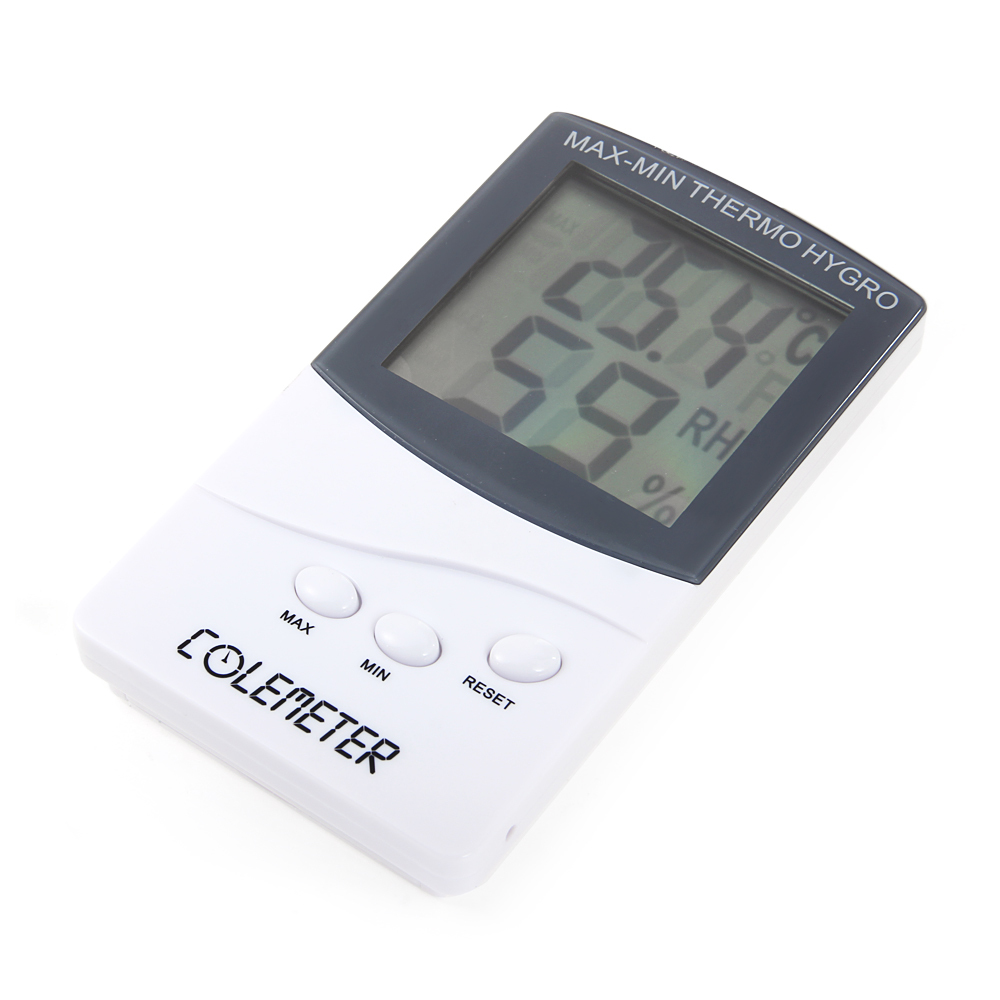 COLEMETER C327 Digital Hygrometer Wet Humidity Thermometer T