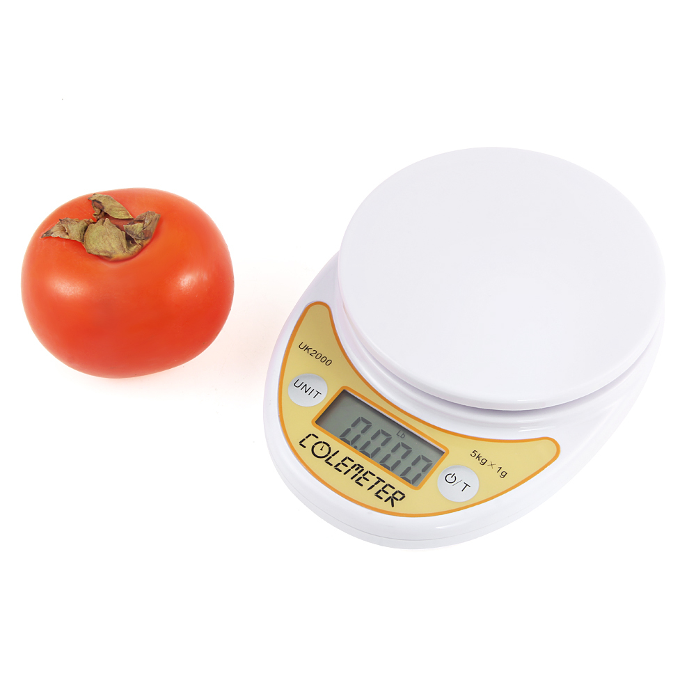 COLEMETER I161 5KG/11LB 1g Digital LCD Kitchen Food Cooking