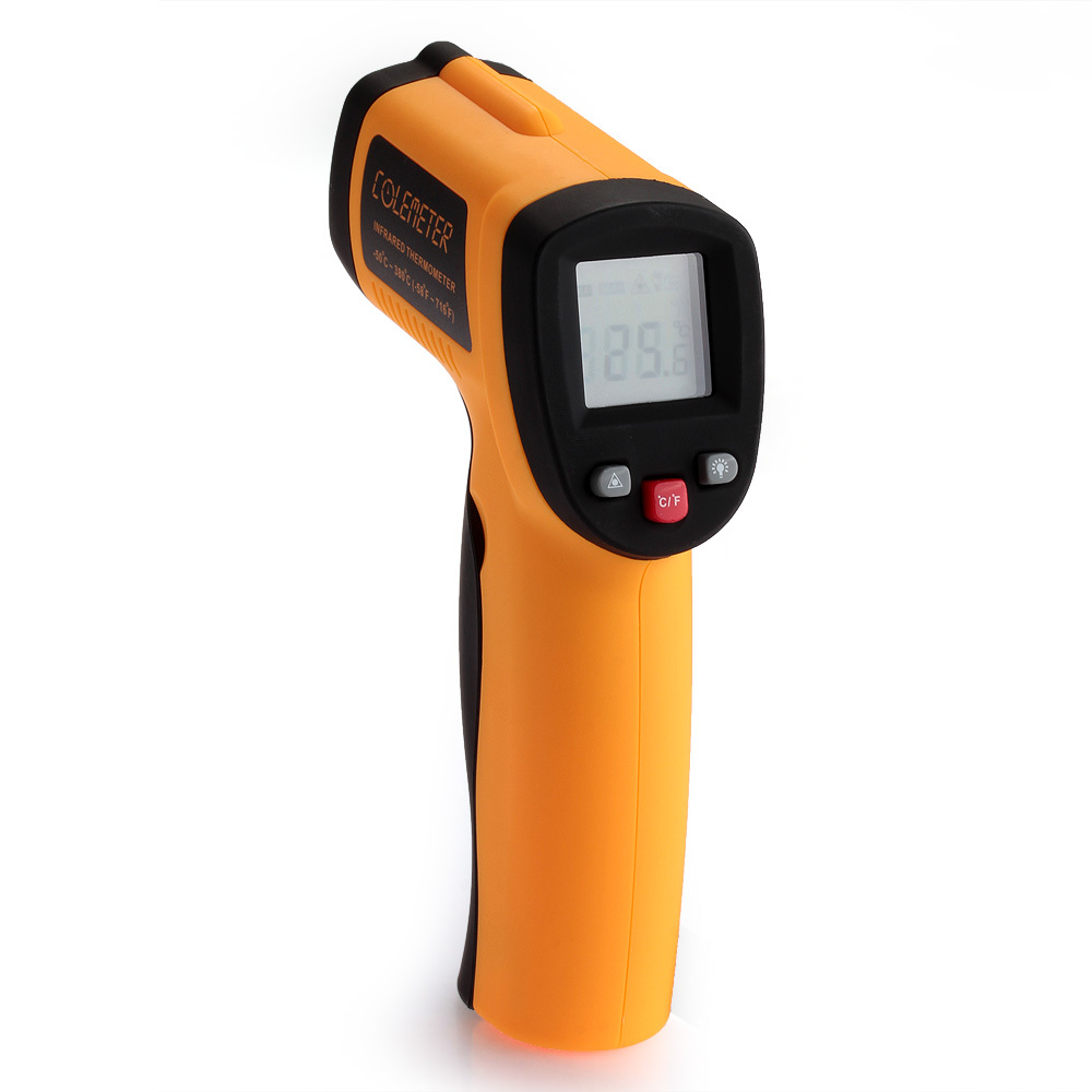 COLEMETER Read Temperature Gun IR Digital Infrared Thermomet