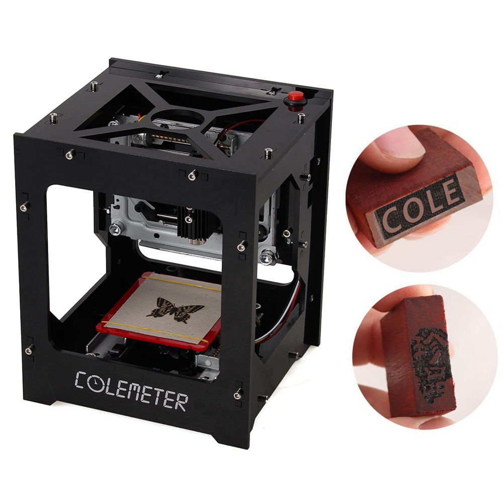 Engraver, Mini Laser Engraving Cutting Box 1000mW Portable D
