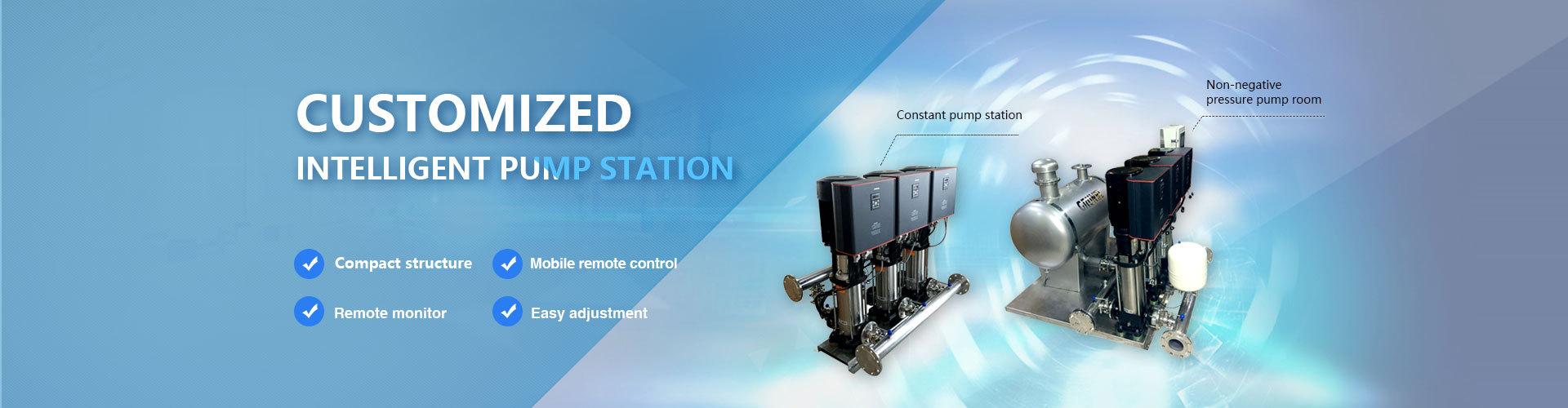 HM4四泵智能供水系统