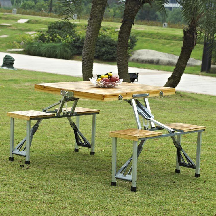 Superbe PC1192   Bamboo Picnic Table Set