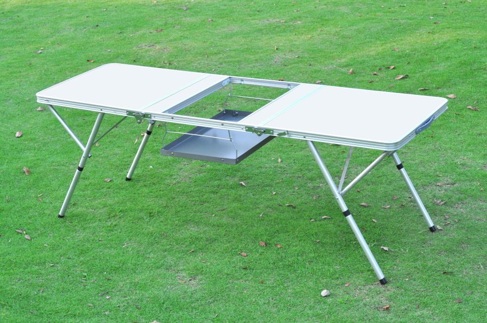 PC1518B  New Style 3 Folding BBQ Table