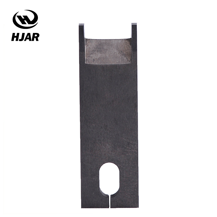 Tungsten carbide wire stripping blade