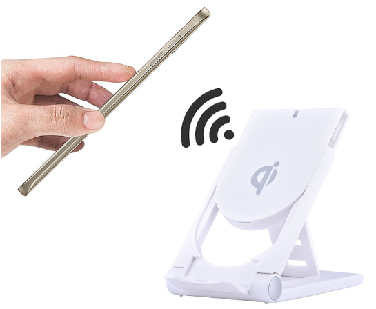 Mobile phone bracket wireless charger