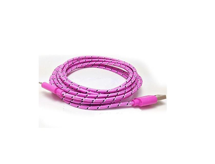 Nylon Braided 3ft Cable