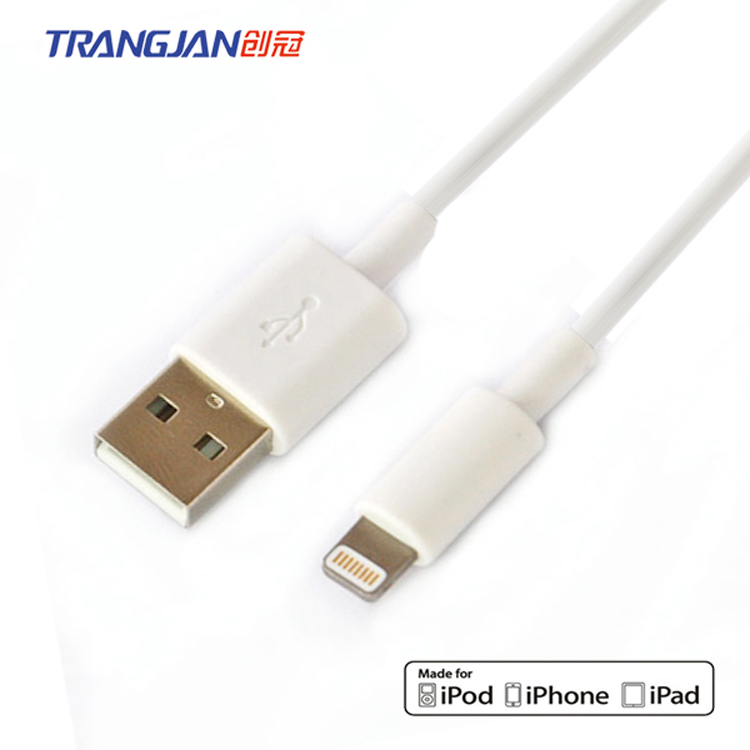 MFi certified TPE c48 8pin lightning cable for iphoneX