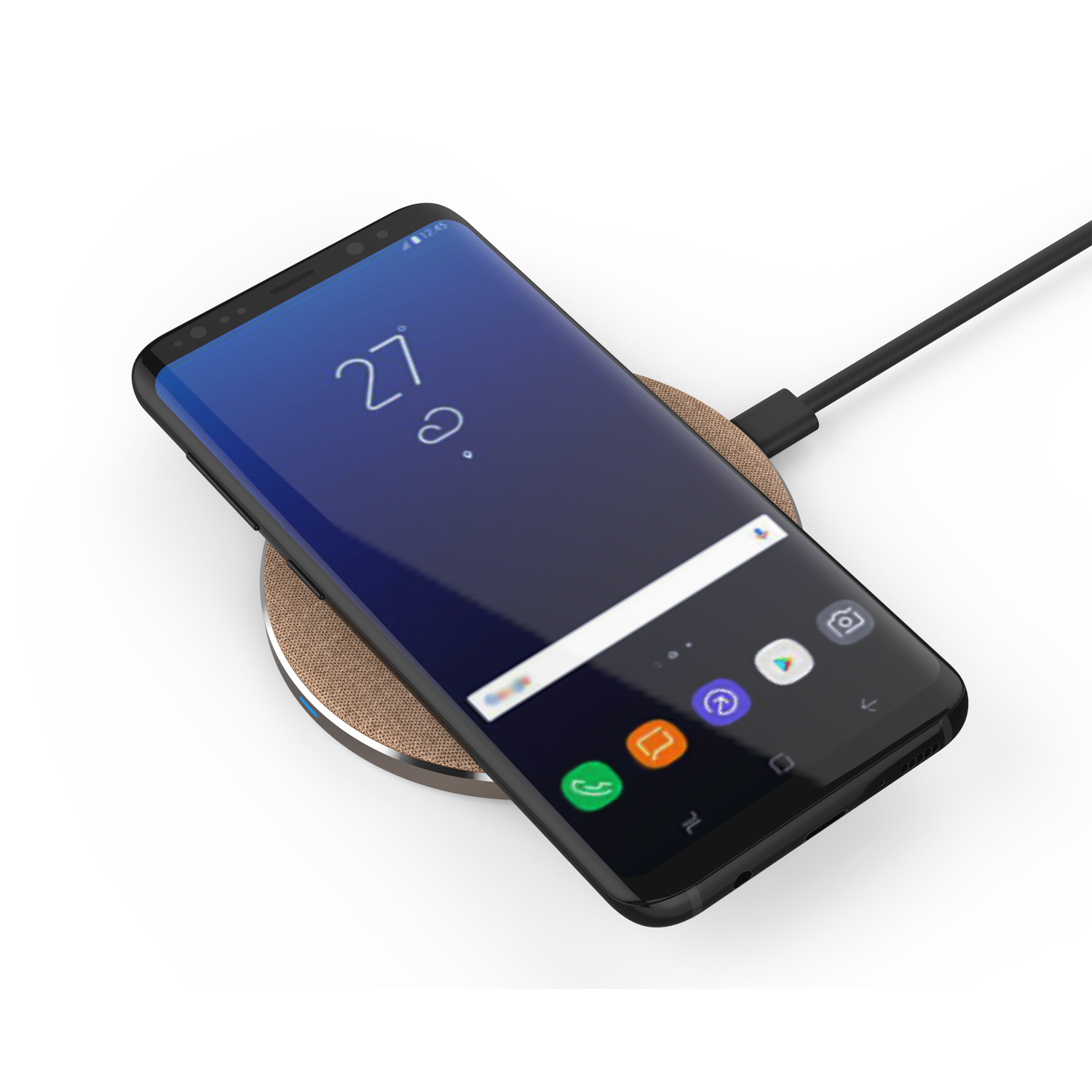 What is a wireless charger and how does it work?