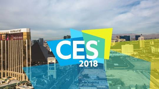 Trangjan is attending 2018CES exhibition in Las Vegas, USA