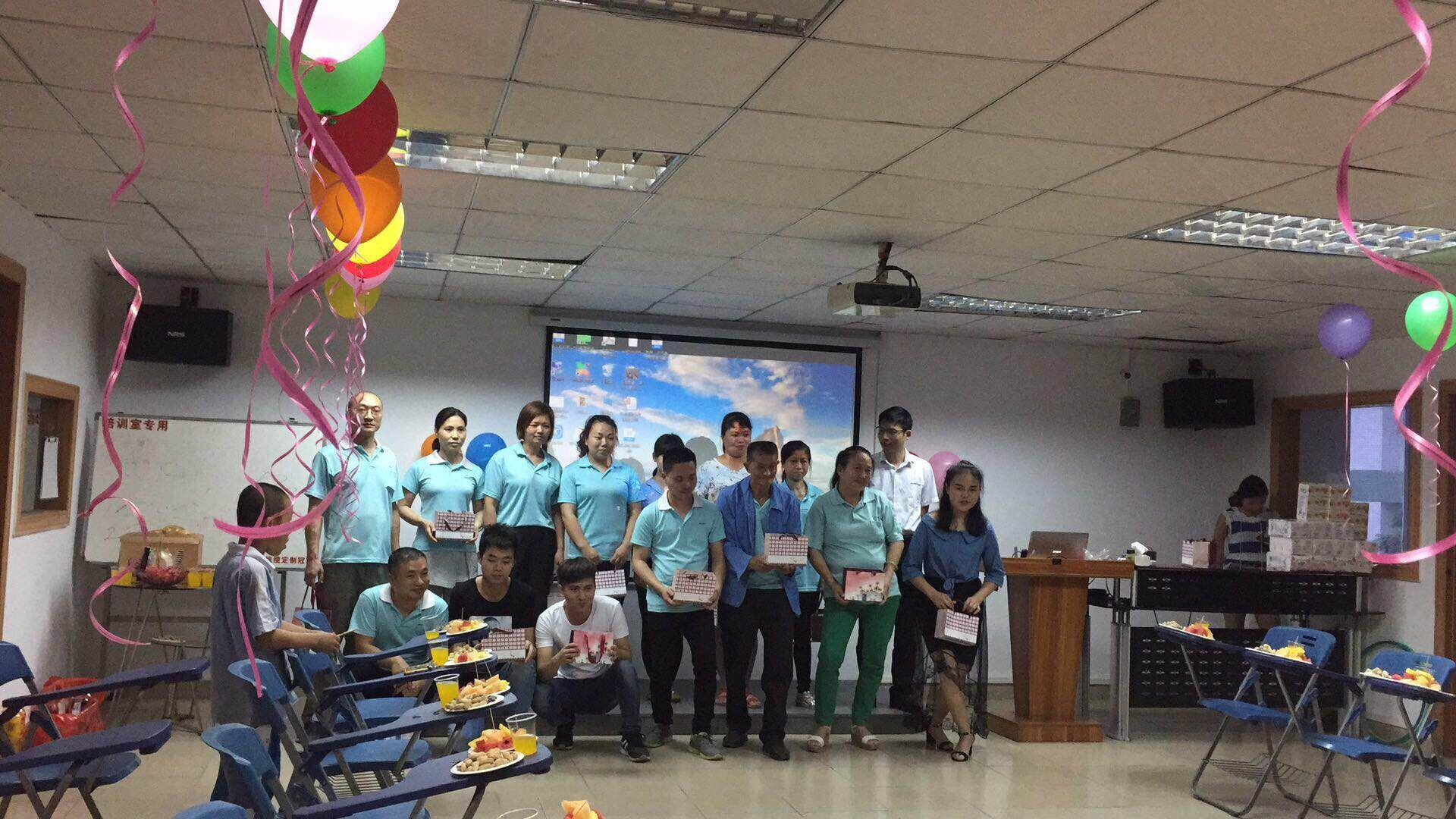 Trangjan Held a Birthday Party for Employees on Youth Day!