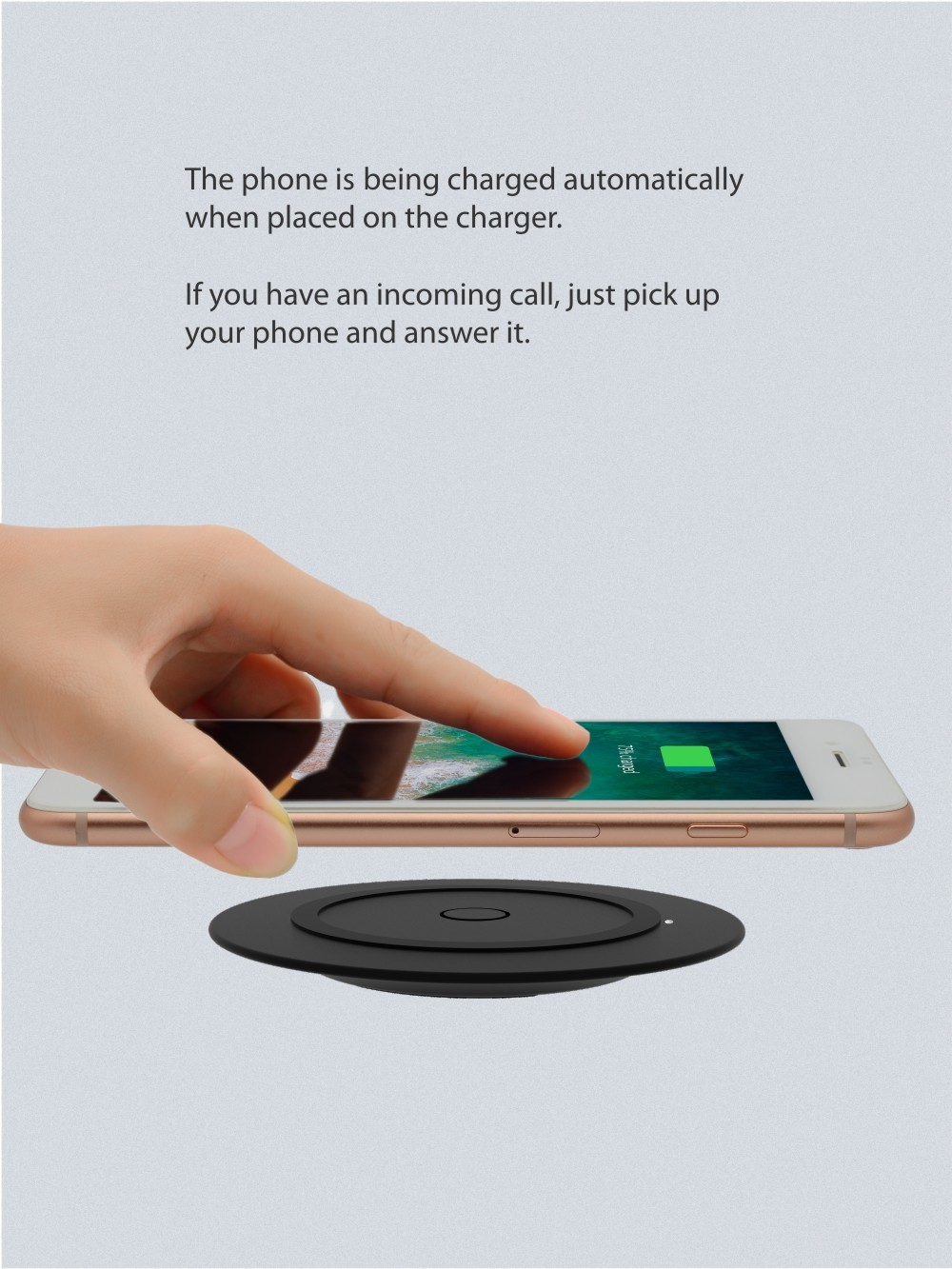 Wireless charger make our life much easier