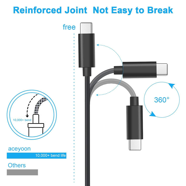 USB C to 3.5mm Audio Adapter Stereo Earphone Headphone Conve