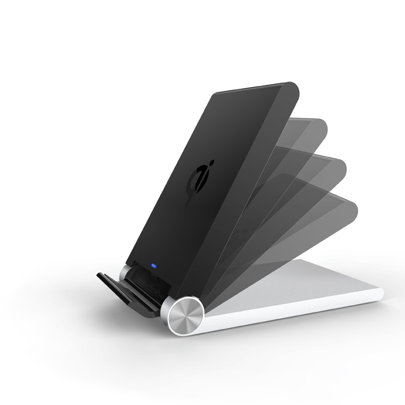 Foldable Stand 2-Coils Wireless Charger