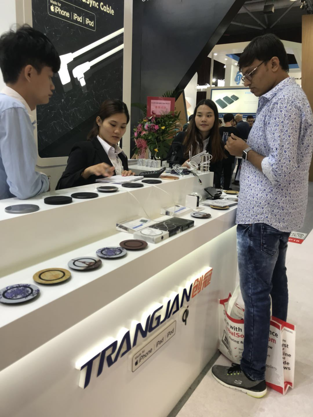 Trangjan is joining The Global Sources Mobile Electronics Fa