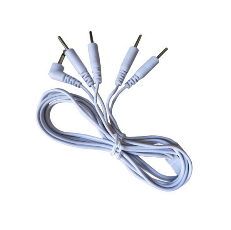 Cable de 3.5mm 2.5mm a DC 2.0mm pin Decenas Electrodos cable