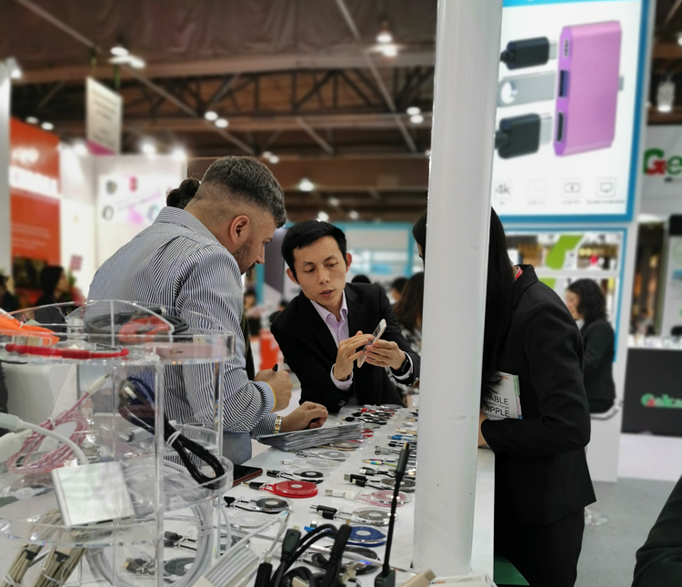 Thanks for visiting our Booth : 9E18  in Global Source Mobil