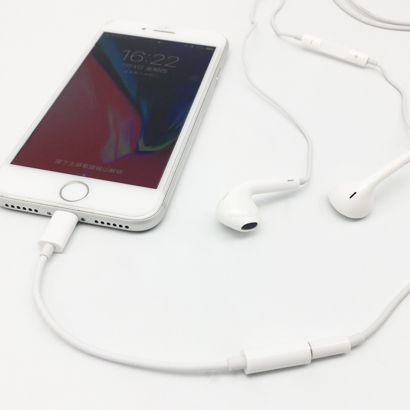 Certificación Apple Lightning a 3.5 cables de audio hembra