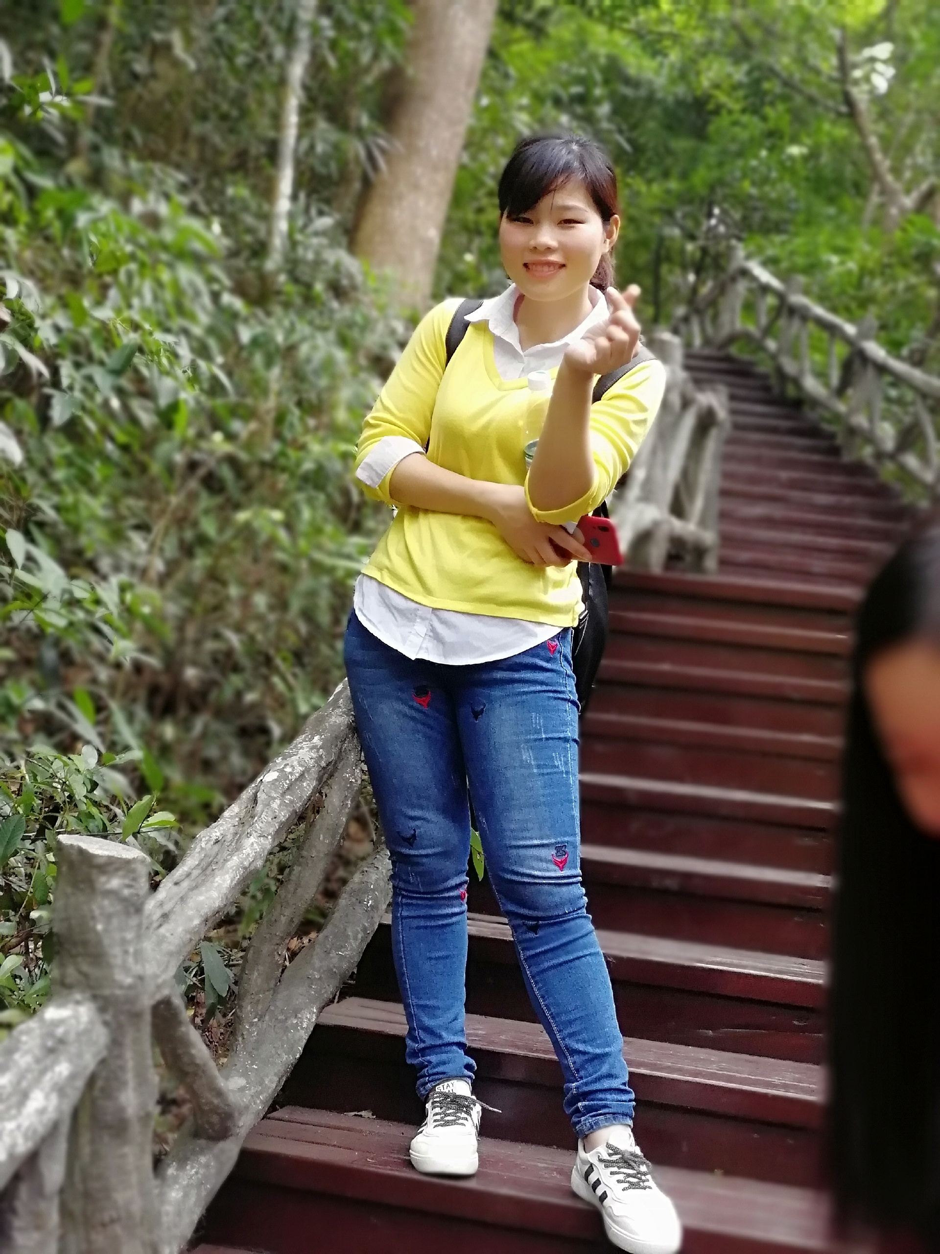 Climbing Yinping Mountain Together in the End of Autumn