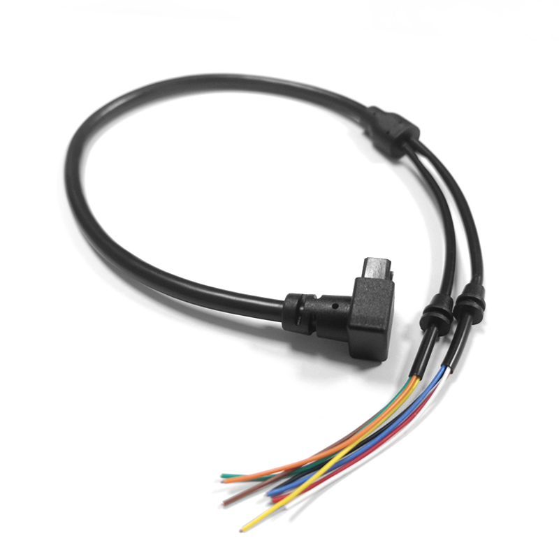 TV-Video-Customizing-Kabel 8P-Steckerwinkel 90 ° zum doppelt