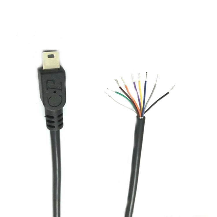 Trangjan custom high quality usb mini 10pin usb cable to bar