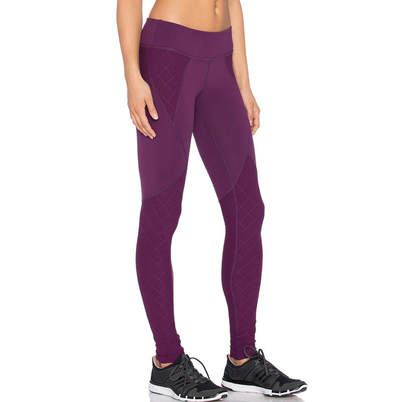 Wine red custom your brand sport leggings